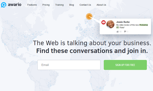 Research competitors on social media with awario