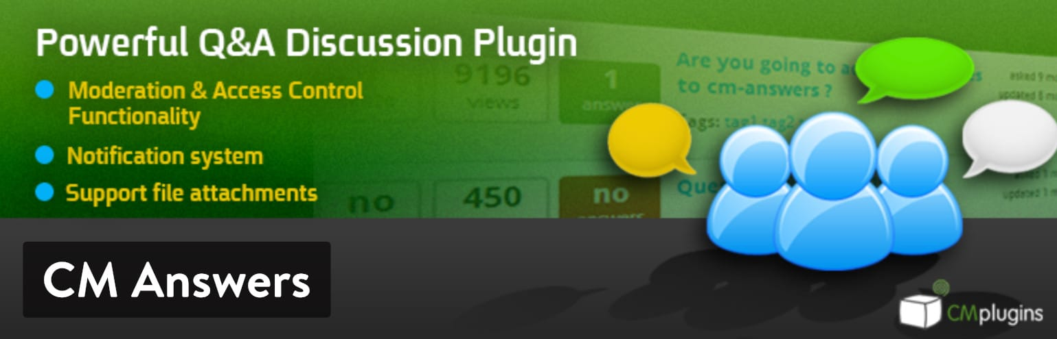 CM Answers WordPress plugin